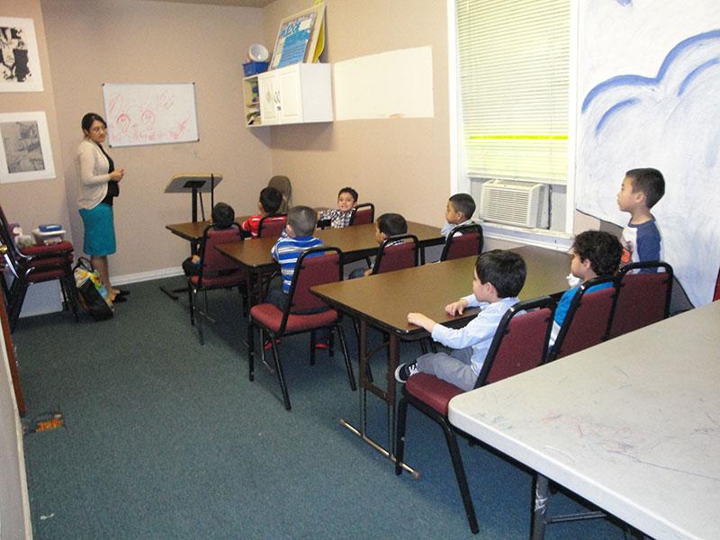 maestras de los niños